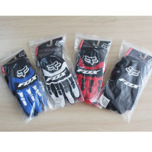 Motorcycle cycling gloves Bicycle full finger fox gloves