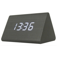 Creative LED Electronic Clock Alarm, Mute Luminous Gift Wall Clock