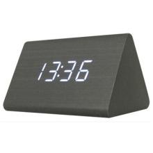 Alarma electrónica creativa del reloj del LED, reloj de pared mudo del regalo luminoso
