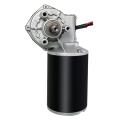120W 12V DC 50rpm 8Nm Worm Gear Motor