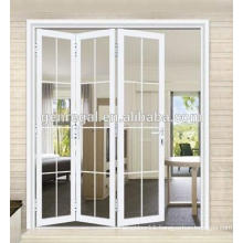 Interior wooden folding doors