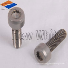 Titanium torx socket head bolt