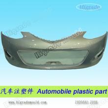 Автомобильная пластмассовая деталь и автоинъекционная пресс-форма (C054)
