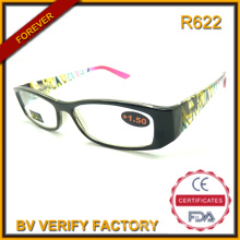 2016 Popular Designer Eyeglass Frames Plastic Reading Glasses Hinges with Spring
