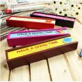 étuis à crayons en bois pour filles