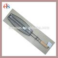 Деревянная ручка-одиночка для рыбалки барбекю гриль сетка корзина