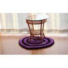 300ds 3D Heart Anti Slip Silk Carpet