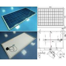 18V 36V 200W polykristallines Sonnenkollektor-PV-Modul mit TÜV-ISO-Qualitätssicherung
