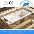 Freestanding seamed acrylic bathtubs