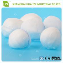 100% хлопок Абсорбирующий марлевой шарик (с сертификатом CE .ISO)