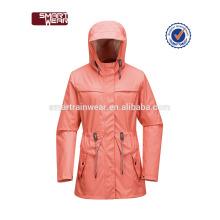 Imperméable pu imperméable veste de pluie avec la conception imprimée en gros