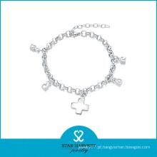 2016 pulseira de jóias de moda com bom polimento (B-0002)