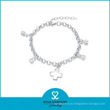 2016 nuevas pulseras de plata esterlina diseñadas 925 (B-0002)