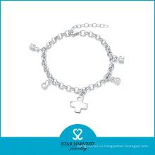 2015 Шарм Серебряный ювелирный браслет (SH-B0002)