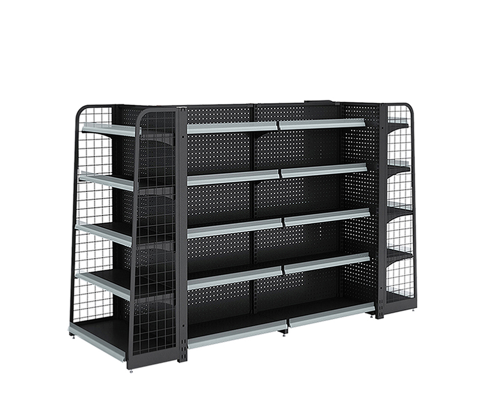 Retail Backhole Display Shelving