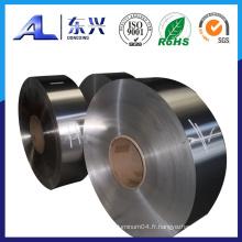 Bobine d'aluminium pour châssis automobile