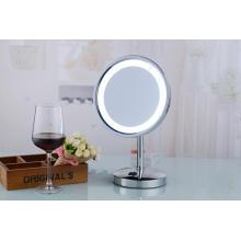 2015 популярные стенд Электрический настольный светодиодный косметическое зеркало