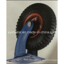 Roda de rodízio pesado Rodante de borracha pneumática Roda de borracha pneumática Rodabeira de borracha pneumática