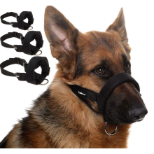 Museau de chien souple réglable