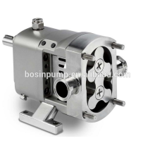 Stainless steel electric horizontal or vertical acid resistant sanitary rotary pumps with self priming made in China