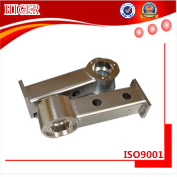 Alumínio 6061-t6 cnc fresadora parte