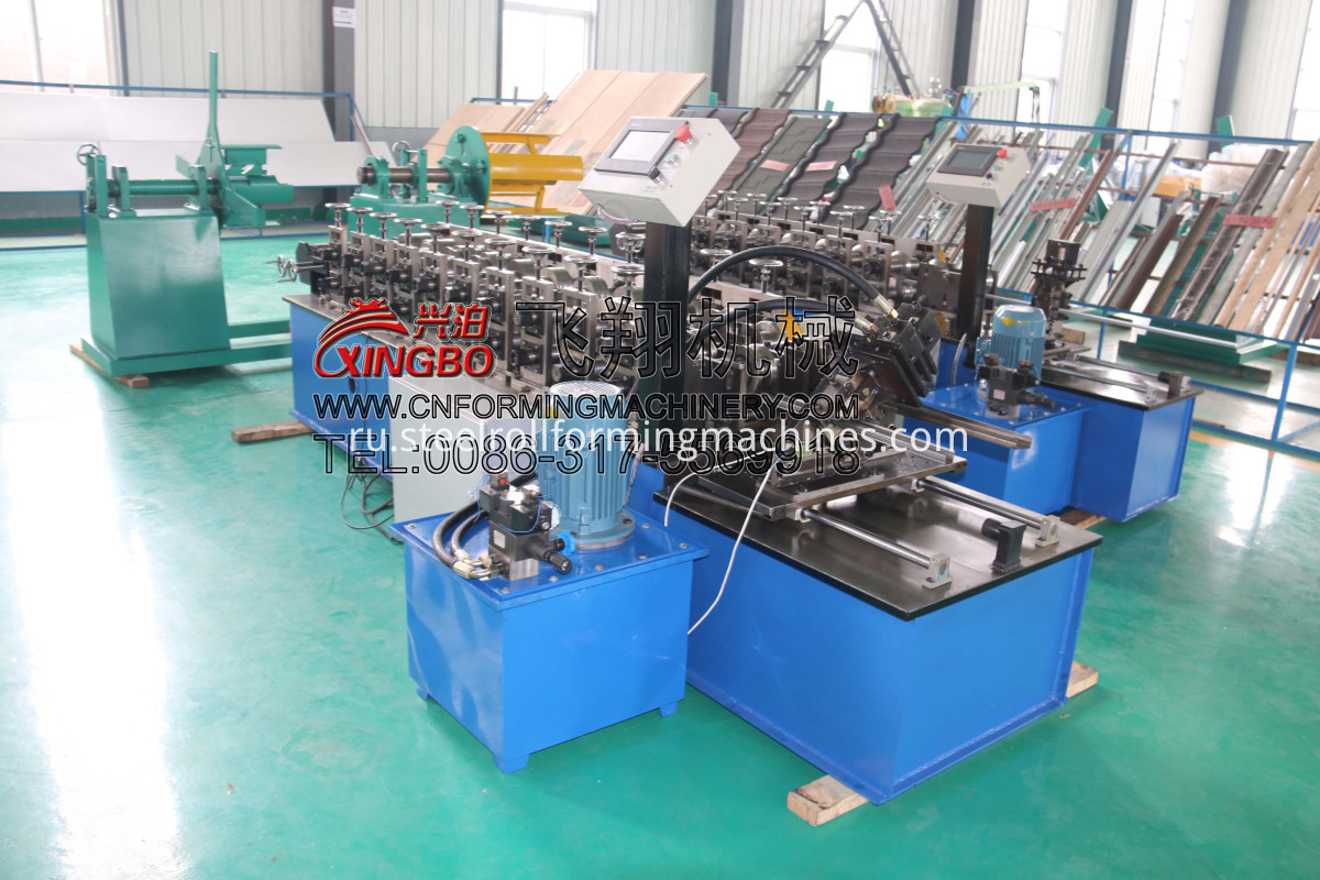 c profile steel channel machine