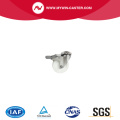 bolt hole stainless steel nylon caster with total brake