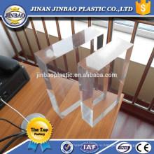 высокая прозрачность дешевый 50мм прозрачный акриловые панели для aqarium