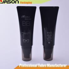 Récipient cosmétique acrylique 35ml Emballage en tube de plastique blanc
