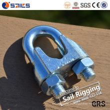 Clip de cuerda de alambre galvanizado acero DIN 741