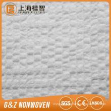 Arabesquitic 100% Polyester geprägte Spunlace Vliesstoff W Art nicht gewebter Rohstoff