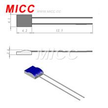 Termómetros de resistencia de platino de clase fina AB100 de la clase AB de MICC