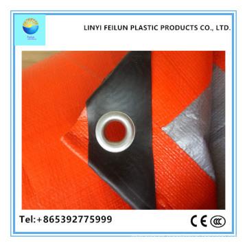 High Quality Orange Tarpaulin Main for South Asia Market
