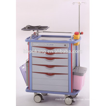 CE/FDA/ISO with competitive price medical emergency trolley