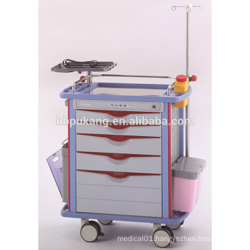 2016 oxygen tank holder abs hospital surgery instrument trolley
