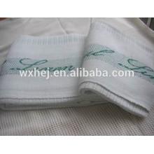 Couverture cellulaire thermique 100% coton de l'hôpital de coton