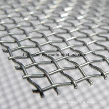 Grillage de fer carré galvanisé
