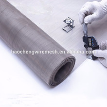 2m Wide plain weave 304 stainless steel wire mesh for textile printing