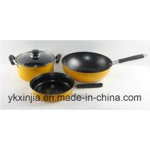 Utensilios de cocina Juego de utensilios chinos antiadherentes de acero al carbono