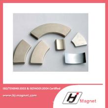 Starke Leistung N35 N50 Neodym Arc Permanentmagnet