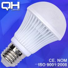 Textura blanco duro lámpara bombilla LED 9W SMD 5730 aluminio