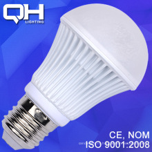 Белая текстура жесткий арматуре светодиодная лампа 9W SMD 5730 алюминий