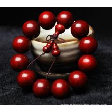 Bracelet de Padauk de haute qualité Chaîne de main Pure Hand Made