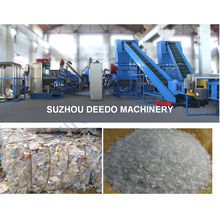 Pet Coke Bottle Cleaning Crushing Recycling Production Line