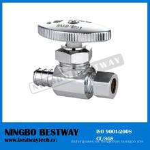 Válvula de detención de ángulo de Pex de latón multivuelta (BW-A49)