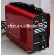 Inversor de mcc de la CC de la venta pequeña pequeña máquina de soldadura portable arc-200 del arco eléctrico