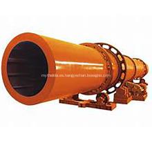 Máquina secadora de tambor rotativo para residuos de soja a la venta