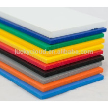 UV printable PVC foamex for indoor and outdoor sign sintra colorful