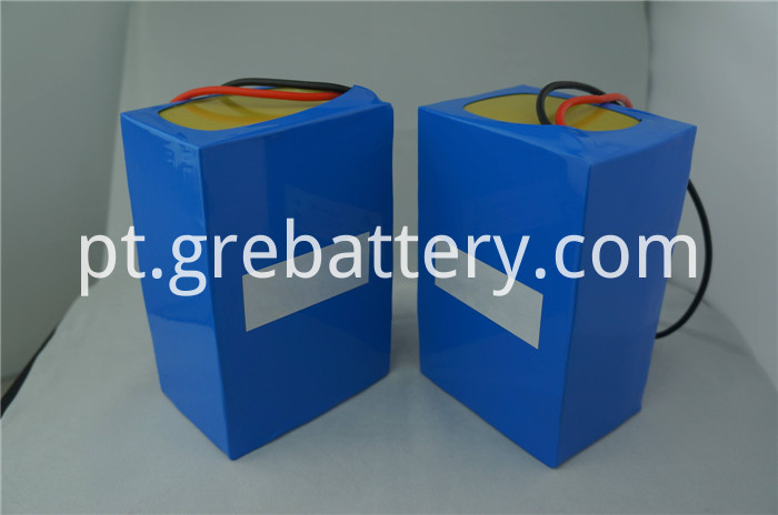 72V lithium ion battery pack