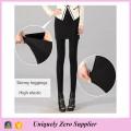 Быстрая доставка Мода женщин Черный хлопок юбки поножи (SR8202)
